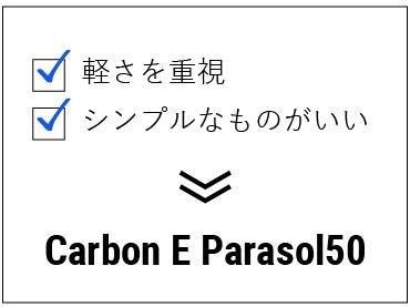 Carbon E parasol50