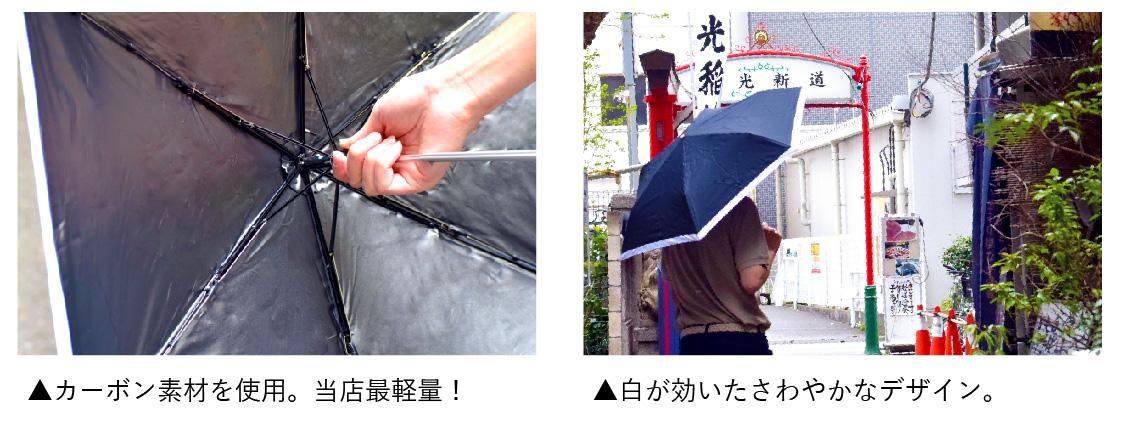 Carbon E parasol50写真